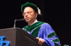 University at Buffalo alumnus Mukesh K. Jain, MD '91, professor of medicine at Case Western Reserve School of Medicine, was the honored speaker.