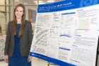 "Alissa Nizinski's research project, ""Cognitive Profiles of Aging in Multiple Sclerosis,"" earned third place."