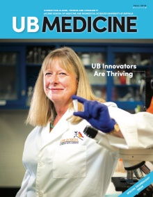 UB Medicine Fall 2019 cover.