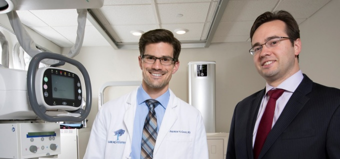 Andrew Gage, MD, and Joseph B. Kuechle MD, PhD.