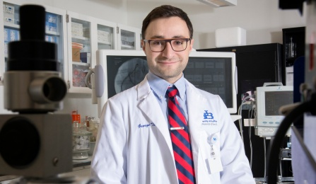 George Techiryan, MD PhD student.