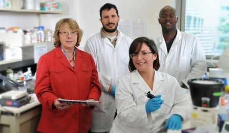 Dr. Margarita Dubocovich and lab members.