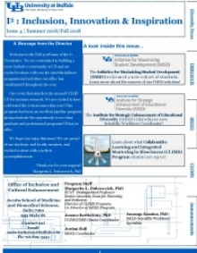 Cover of I3 Newsletter Summer-Fall 2018.
