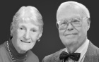 Beverly Petterson Bishop, PhD '58 and Charles W. Bishop, PhD.