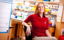 IGPBS alumnus Katie Edwards, PhD, '03.