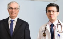 Program director M. Jeffery Mador, MD, and fellow Chan Yeu Pu, MD.
