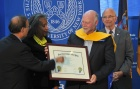 J. Craig Venter Receives Honorary Doctorate.