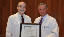 Peter D. Ewing, MD, clinical assistant professor of medicine, received the Leonard Tow Humanism in Medicine Award.