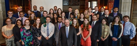 2014 UB Gold Humanism Honor Society inductees.
