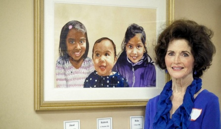 Portraits of pediatric patients.